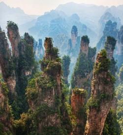 Hunan Province, China – or Pandora from Avatar!