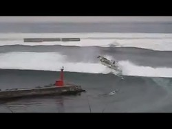 New footage emerges of Japan Tsunami – YouTube