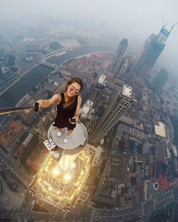 Russian Photographer Is On A Mission To Take The Riskiest Selfies Ever