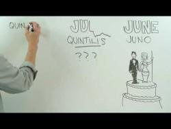 Where Do the Calendar Months Get Their Names? – YouTube