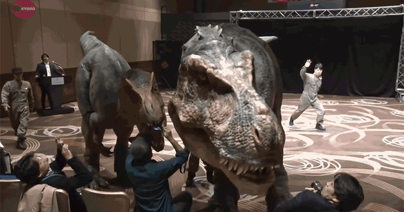 This Is the Best T-Rex Costume You've Ever Seen