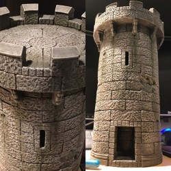I built a (small) Castle Tower – Album on Imgur
