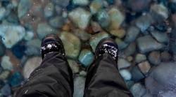 Man 'walks on water' after rare natural phenomenon (PHOTO)  — RT Viral