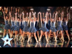 Line dancers CountryVive add a touch of glamour | Britain's Got Talent 2014 – YouTube