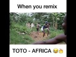 When you remix Toto Africa – YouTube