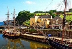 Historic port of Charlestown made famous in Poldark and Taboo to welcome public on new tall ship