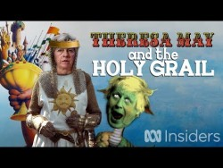 Theresa May and the Holy Grail – YouTube