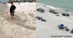 Welcome to America: Family Fined, Threatened With Jail for Building a Sand Castle