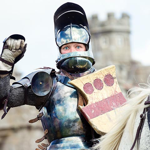 Grand Medieval Joust | English Heritage