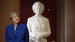 Hugely unpopular Prime Minister pushes for statue of hugely unpopular Prime Minister