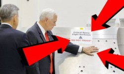 Mike Pence Touches NASA Equipment Labeled 'Do Not Touch', Becomes Instant Meme