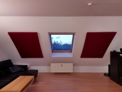 I made acoustic absorbers for our living room – Album on Imgur