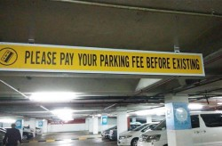 I think these parking companies are getting a bit pushy
