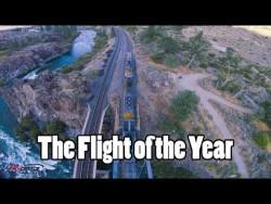 Flight of the Year // Trains, Bridges, Rapids, Mountains, Sunset, Gapping, Perching, Powerloopin ...