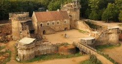 For 20 Years The French Have Been Building A Medieval Castle Using Medieval Techniques, And The  ...