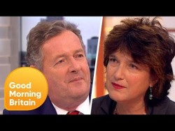 Piers Morgan Challenges Professor Calling for Contact Sport Ban in Schools | Good Morning Britai ...