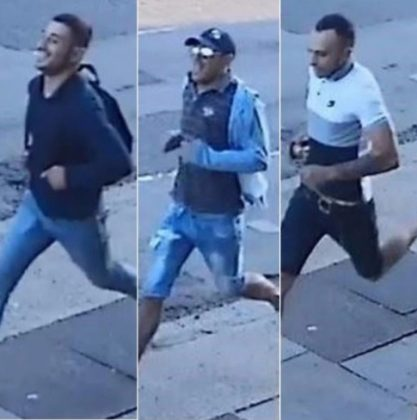 Police release images of men wanted in connection with assault on 82-year-old cancer patient