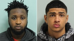 Thugs spray acid into shopkeeper's mouth in London robbery (VIDEO)