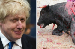 Boris Johnson just admitted he fully supports BULLFIGHTING | Evolve Politics