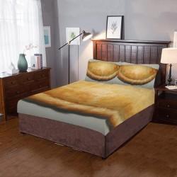 Cornish Pasty 3-Pieces Bedding Set                      –  Custom Shoes Designs