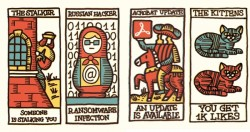 Social network tarot cards predict the predictable   |   Dangerous Minds