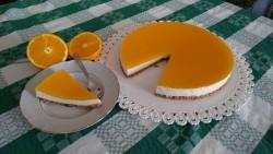 [Homemade] orange cheesecake : food