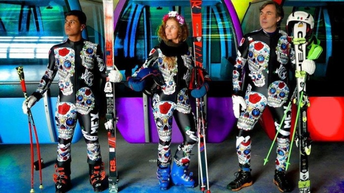 The Mexican Ski team have the best uniforms