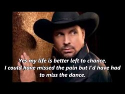 Garth Brooks – The Dance (With Lyrics) – YouTube