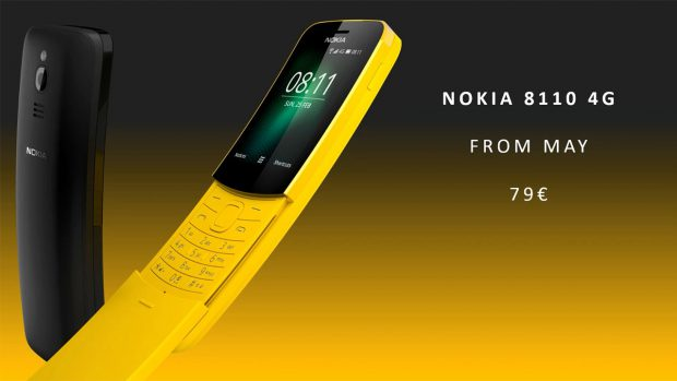Nokia Brings Back The 8110 – The Matrix Phone   Gizmodo UK