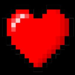Extra life heart tattoo