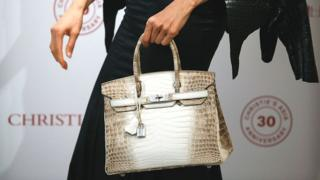 The handbag that costs as much as a house – BBC News