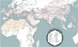 An Incredibly Detailed Map Of Medieval Trade Routes