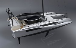 Daedalus D80 is a smart ocean supercat capable of low-emission long-distance luxury cruising  ...
