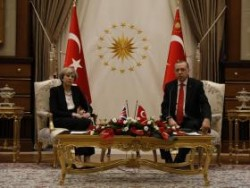 Theresa May's rolling out the red carpet for Erdogan is repulsive, but then again our lead ...