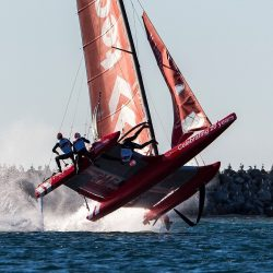 Foiling or flying?