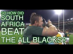 So how did South Africa beat the All Blacks? | Squidge Rugby