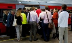 UK trains 'are packed to near double capacity'