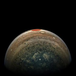 Jupiters red spot