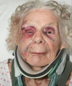 Last moments of 100-year-old Holocaust survivor before she was killed by heroin addict for £20