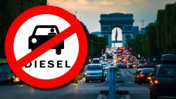Diesel bans: where can't you drive in the UK and Europe?