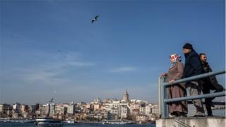 Turkey's economy slides into recession