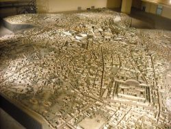 Detailed Model of Ancient Rome