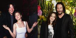 Keanu and Winona 30 years apart! 1988 and 2018, WTF!