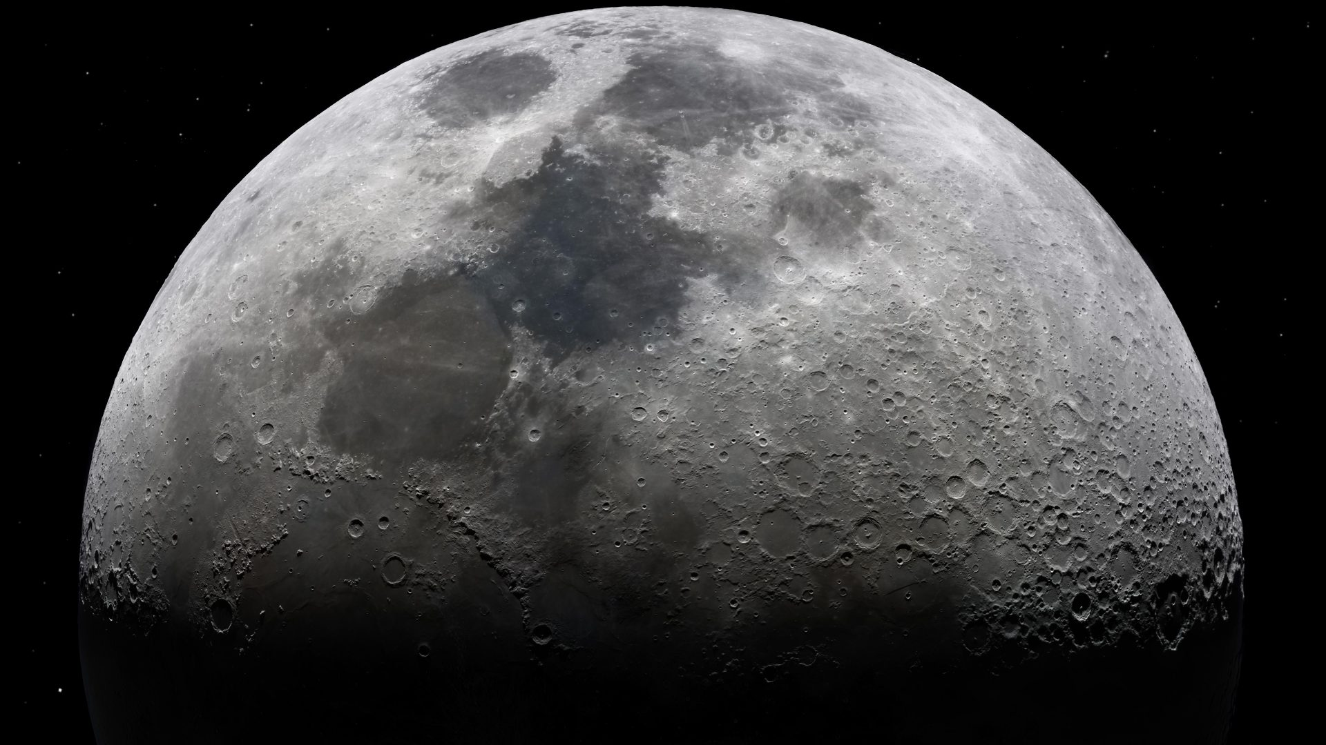 An amateur shot of the moon in 8k. Amazing detail