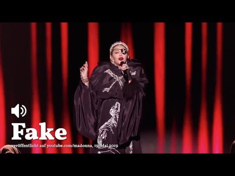 Madonna autotuned her atrocious Eurovision performance before uploading it to her YouTube channel. Too bad 200 million people saw it on live television.