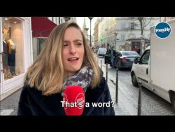 Parisians Try to Pronounce Words in English