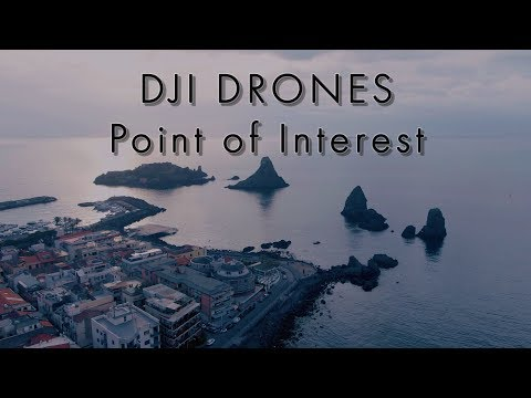 DJI drones Point of Interest intelligent flight mode