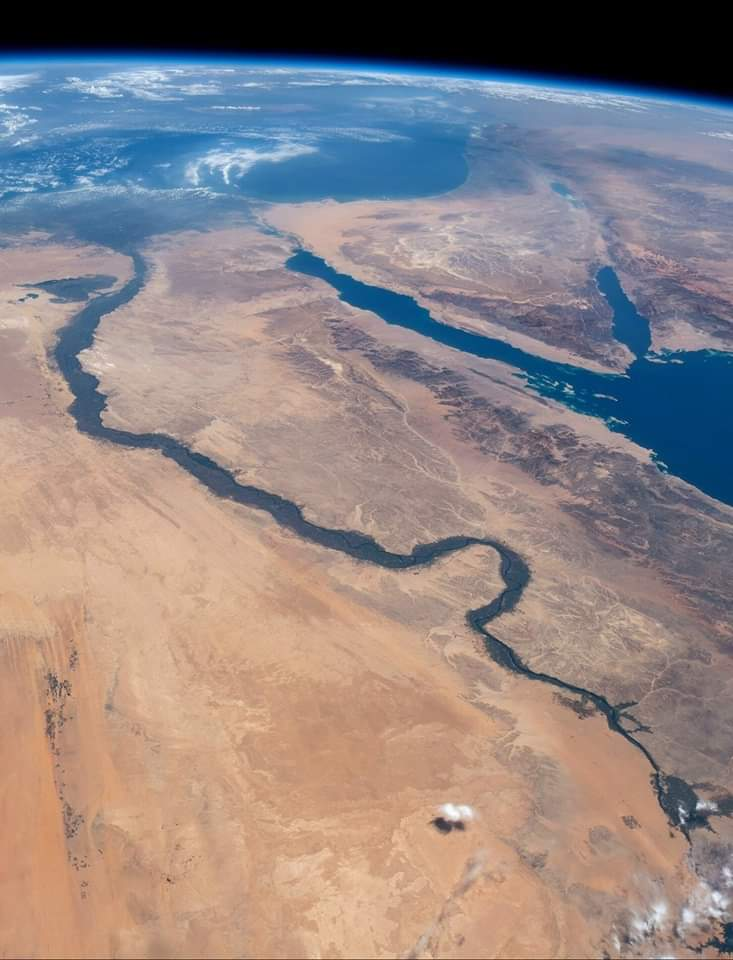 Nile River seen from space