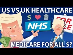 US vs UK Healthcare. A Woman Begs People Not To Call An Ambulance. With Stephen Fry.