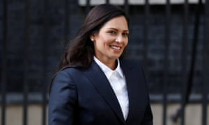Priti Patel paid £1,000 an hour as adviser to firm supplying MoD